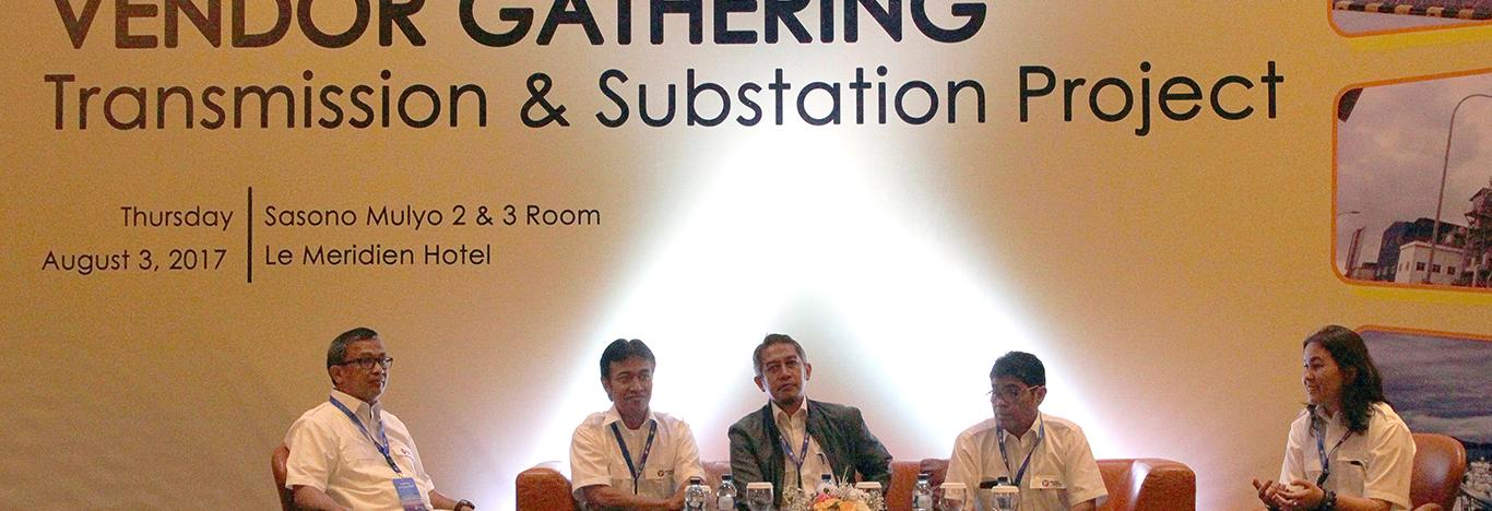 Vendor Gathering PT Rekadaya Elektrika : Transmission & Substation Project