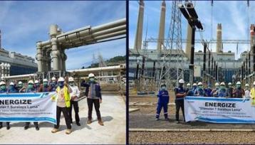 PT Rekadaya Elektrika Completed the old Suralaya 500 kV GISTET Project