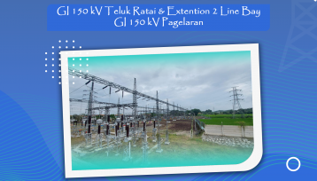GI 150 kV Teluk Ratai & Extention 2 Line Bay GI 150 kV Pagelaran